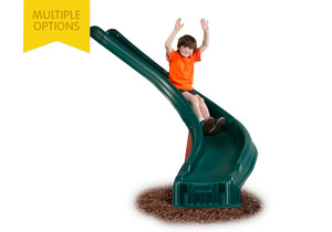 Studio view of Side Winder Slide from PlayNation Play Systems.