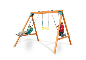 Studio view of Ranger play set from PlayNation Play Systems.