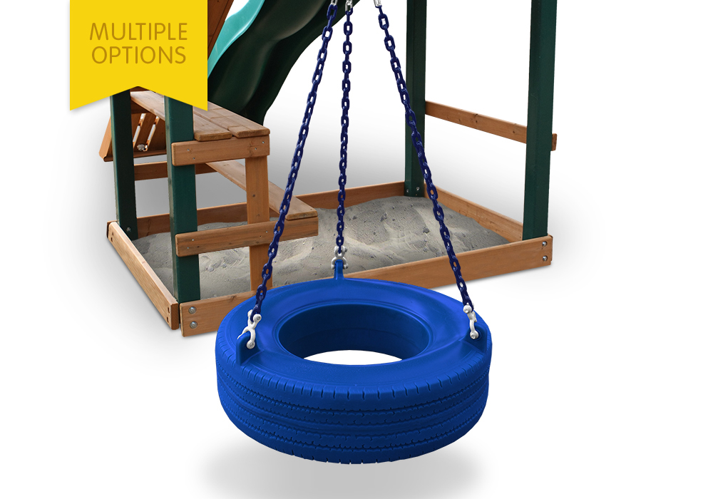 360 Degree Turbo Tire Swing Swing Set Accessories