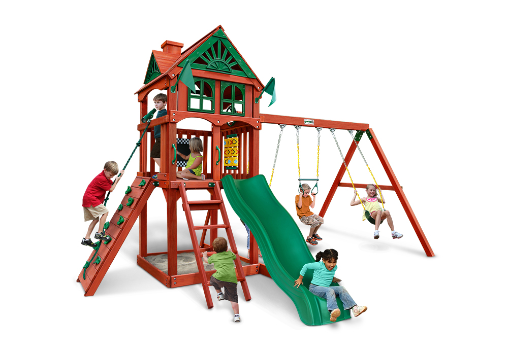 Studio front view of Five Star Play Set from Playnation