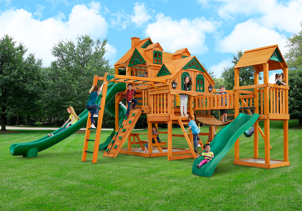 Outside front view of Empire Extreme Play Set from Playnation