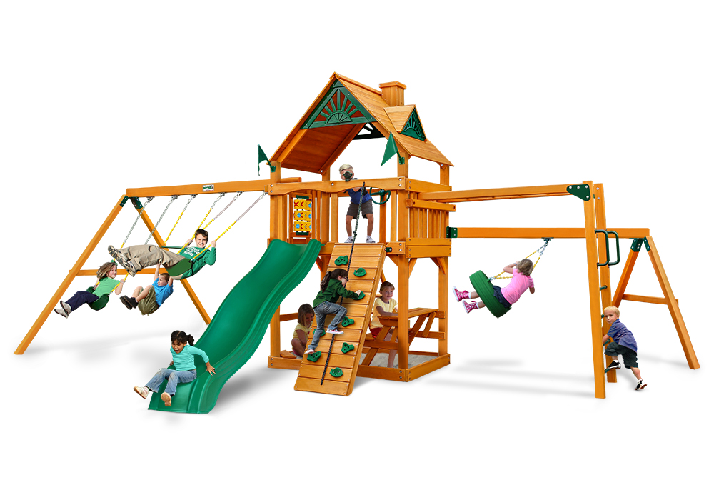 Studio view of Homestead Play Set from Playnation
