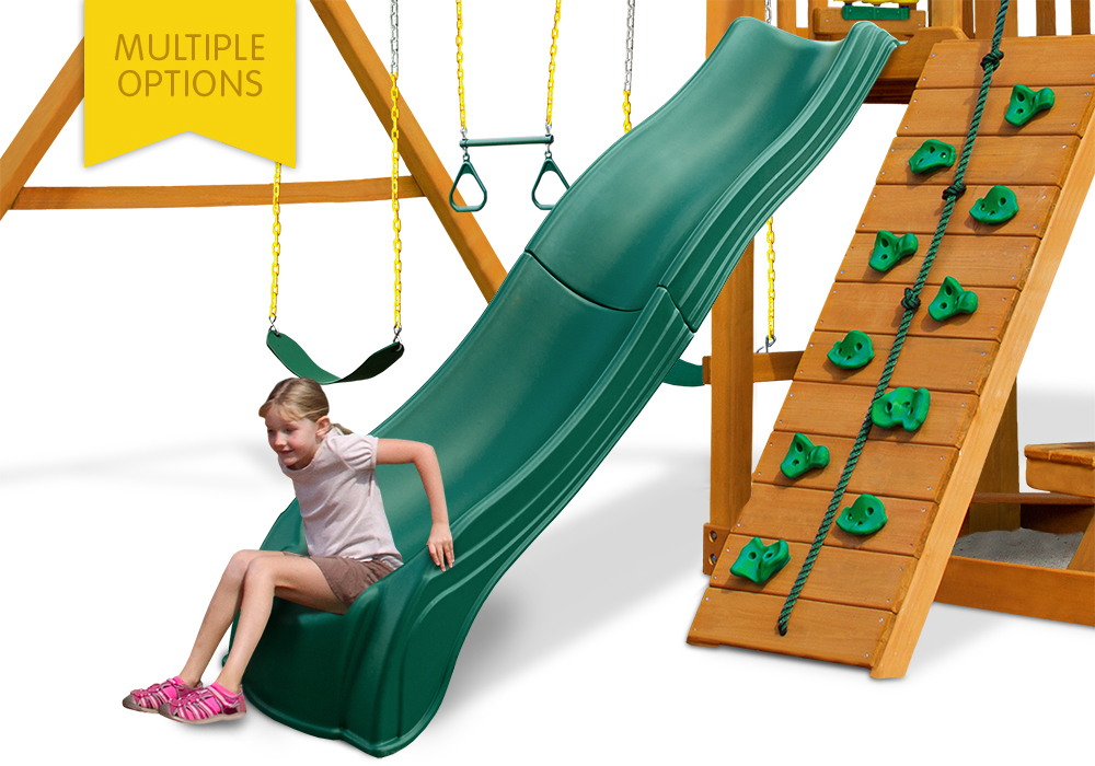 Studio view of Olympus Slide from PlayNation Play Systems.