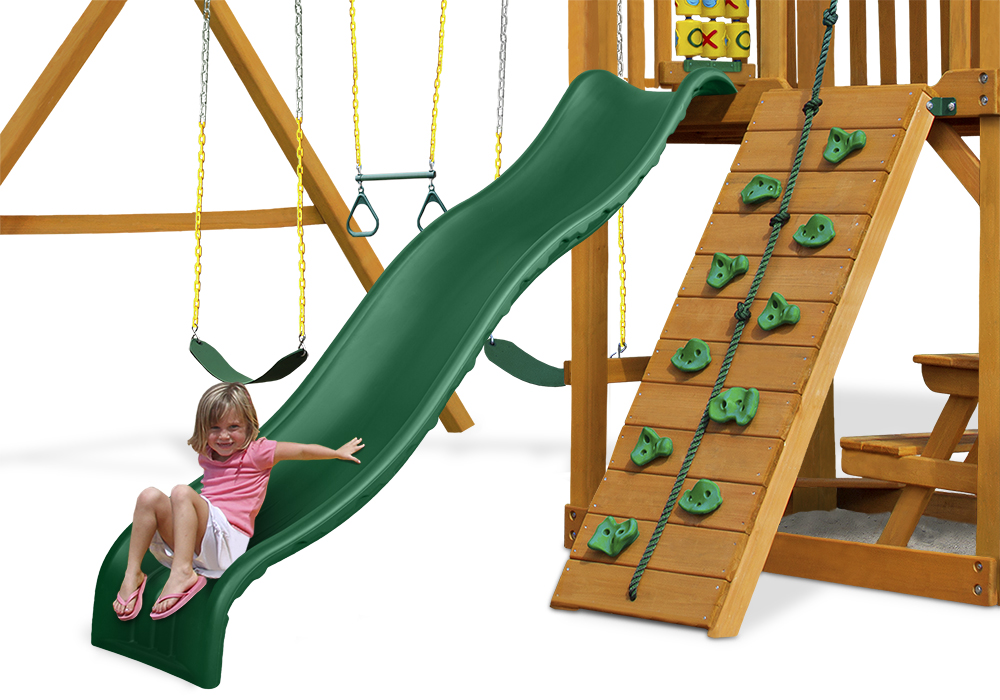 Studio view of Wiki Wave Slide II from PlayNation Play Systems.