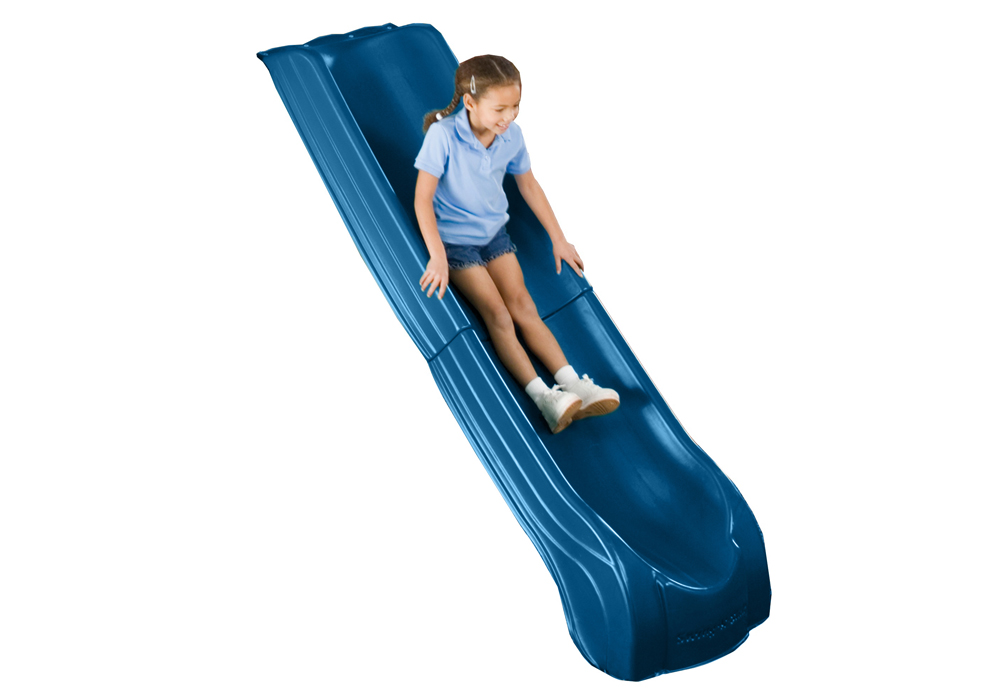Studio view of Blue Summit Slide from PlayNation Play Systems.