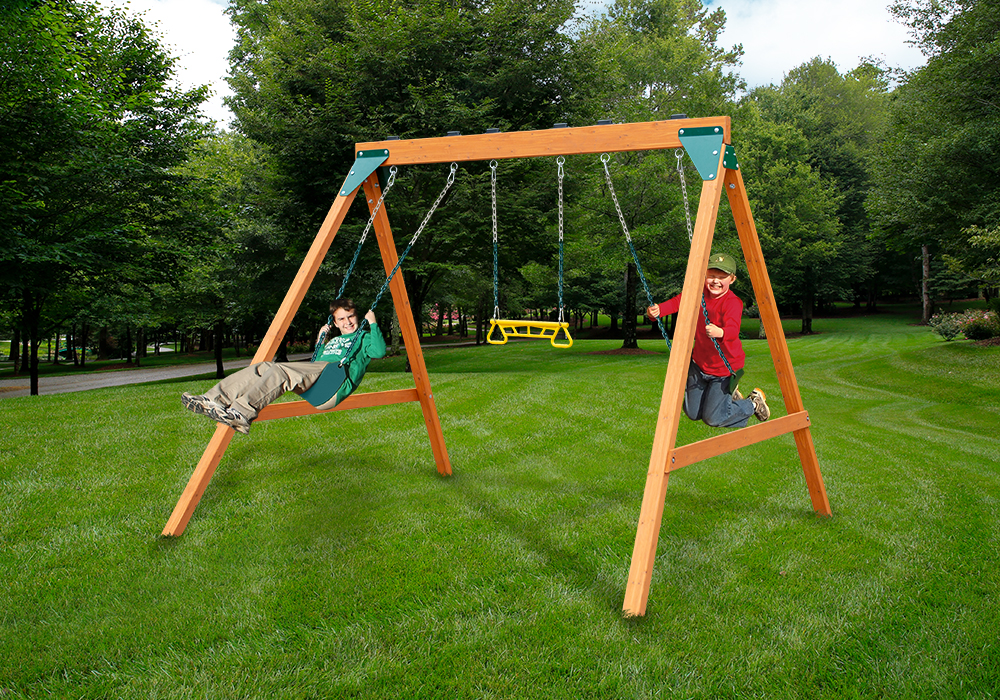 Outdoor view of Ranger play set from PlayNation Play Systems.