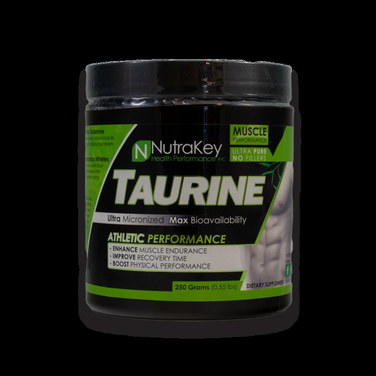 Nutrakey Taurine 250 serving