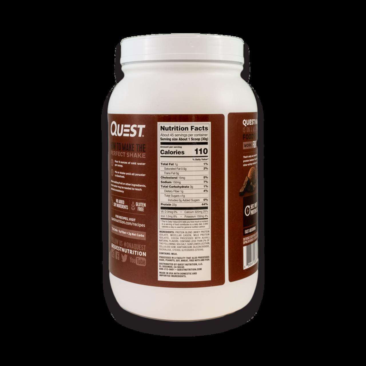 Quest Protein Powder