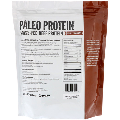 Julian Bakery PaleoThin Grass Fed Beef Protein