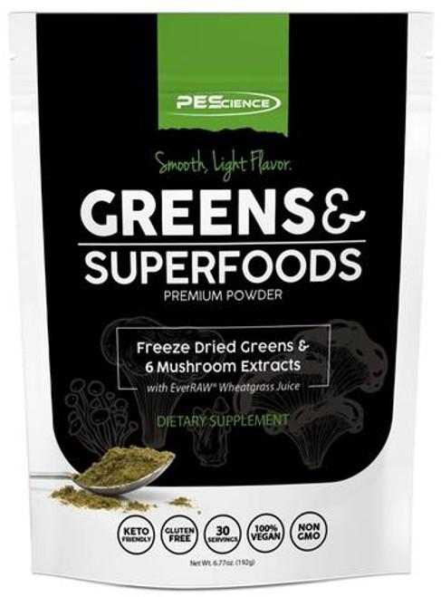 PE Science Greens & Superfoods Powder