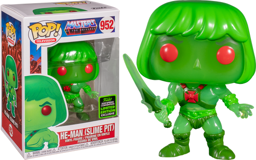 Funko Pop He-Man Slime Pit Limited Edition