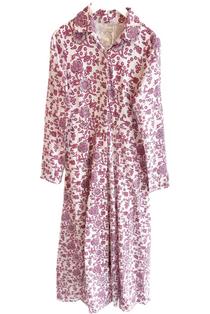 Shirtdress, Plum Fields
