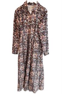Shirtdress, Midnight Floral