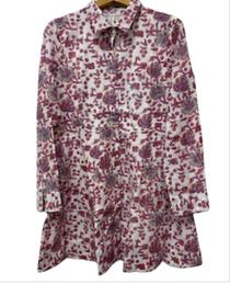 Mini Shirtdress, Plum Fields