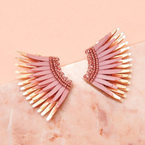 Mini Madeline Earring, Blush