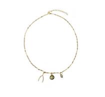 Wishbone Charm Necklace