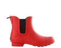 Chelsea Matte Red Rain Boot