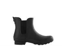 Chelsea Matte Black Rain Boot
