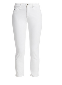 Prima Crop White Jean