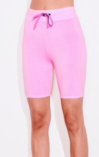 Biker Short, Pigment POP Pink