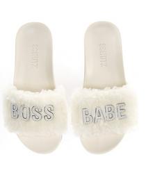 Slipper, Nude Boss Babe
