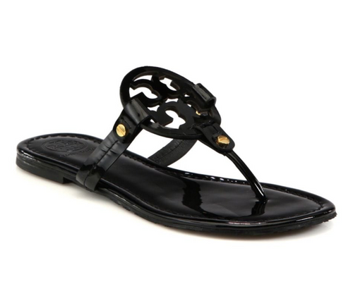 Tory Burch Patent Miller, Black