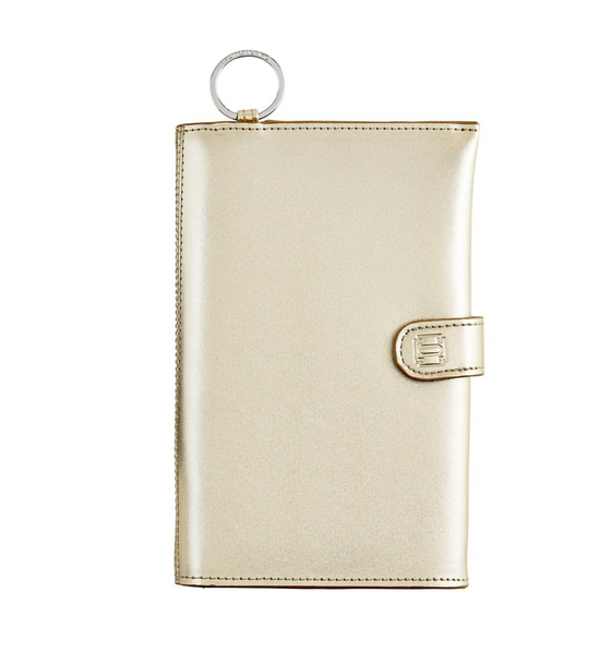 Organizer Wallet, Gold