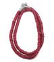 Trade Beads, Matte Raspberry