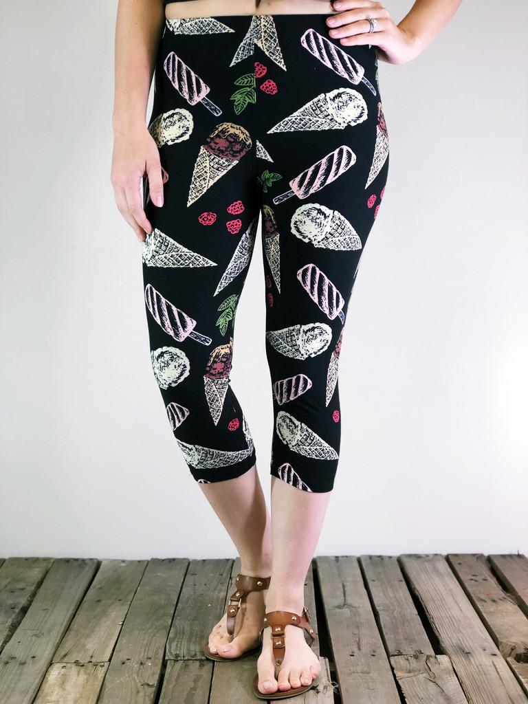 One Size Capri- Summer Treat