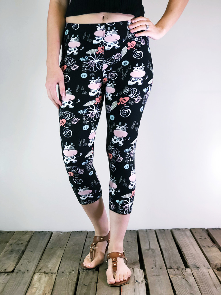 Plus Size Capri- Udderly Adorable