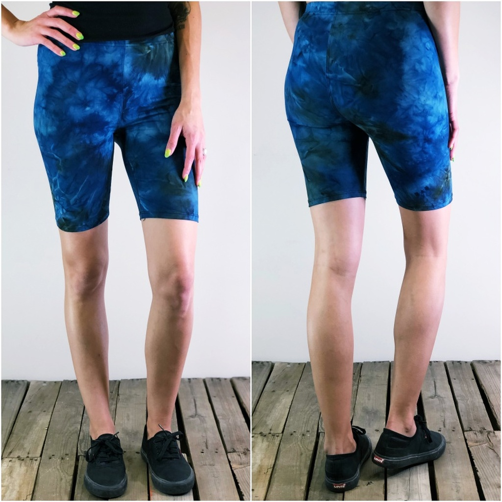 Bike Shorts- Rain Puddle