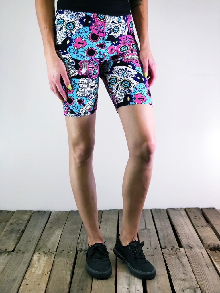 Bike Shorts- Pastel Poison