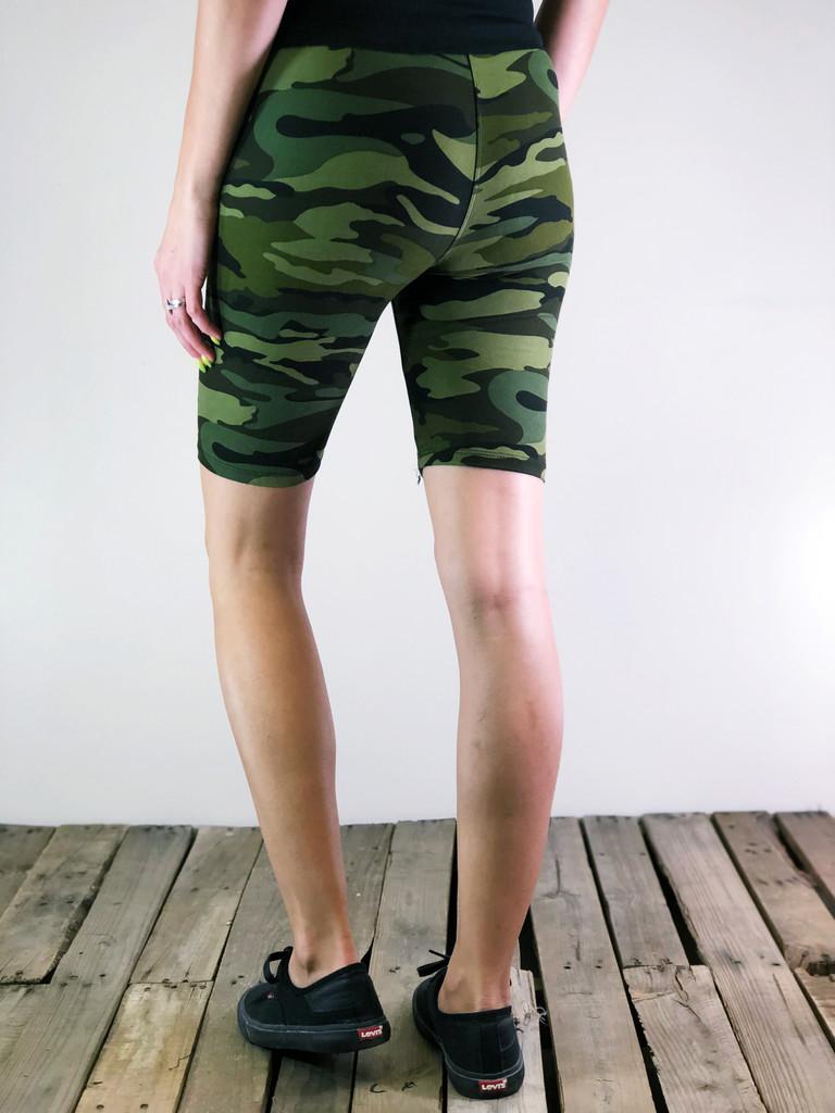 Bike Shorts- OG Camo