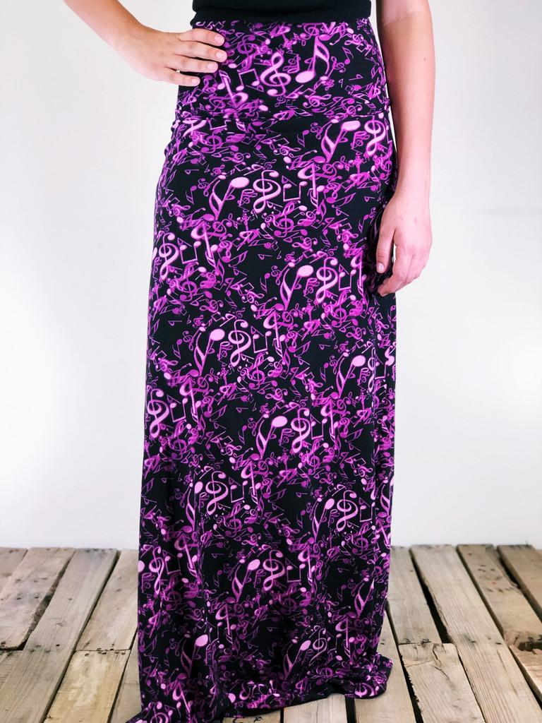 One Size Maxi- Purple Rain