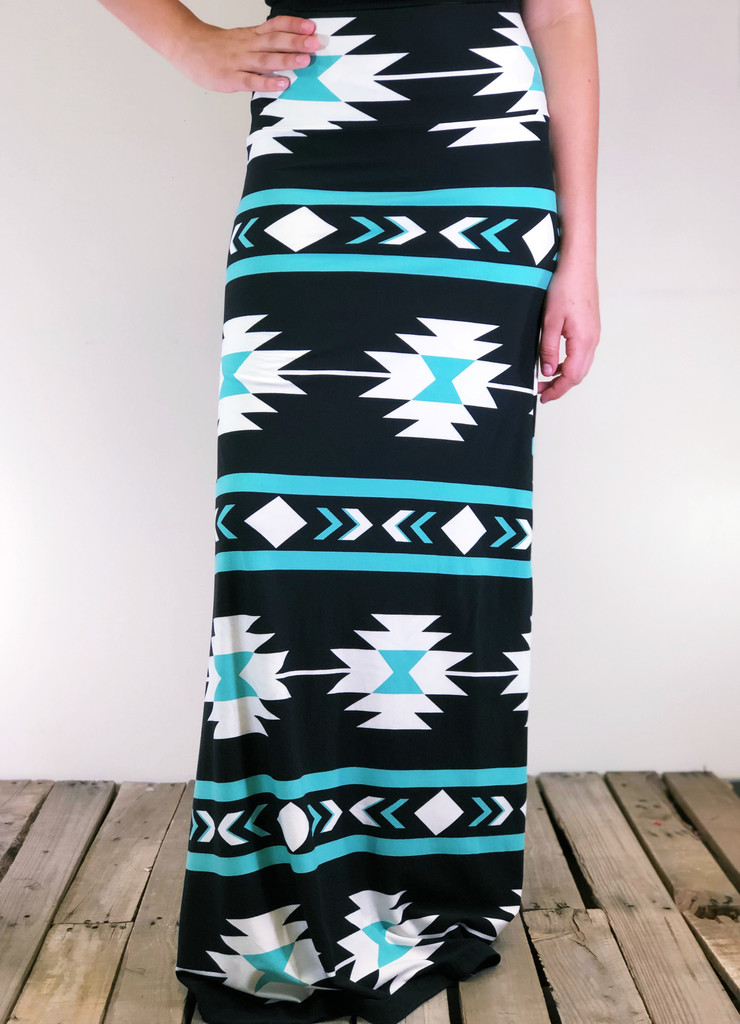One Size Maxi- Minted Delight
