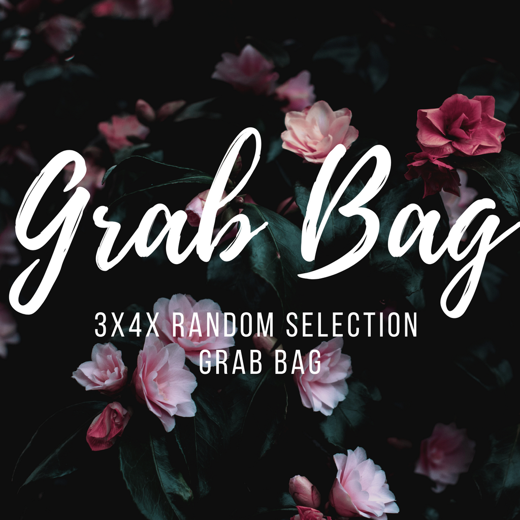 5- Piece 3x4x Random Selection Grab Bags