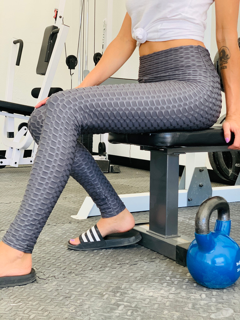 Booty Lift Leggings - Charcoal