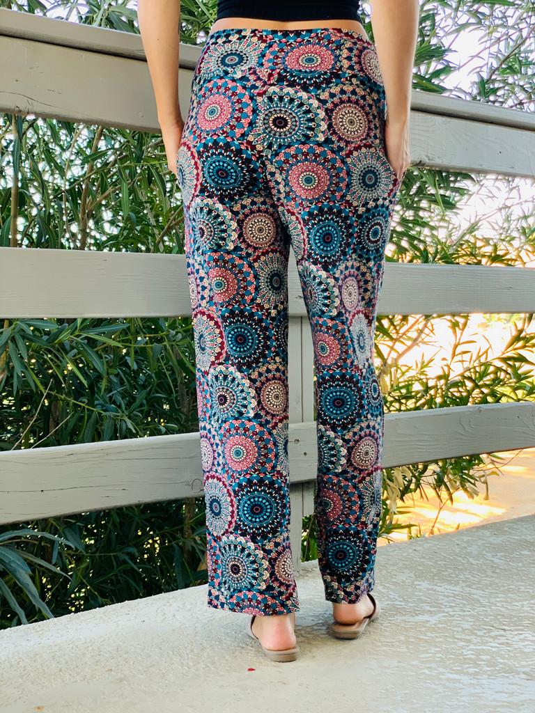 Pajama Pants/ Lounge Pants - Dandelion Dollies w/ Pockets
