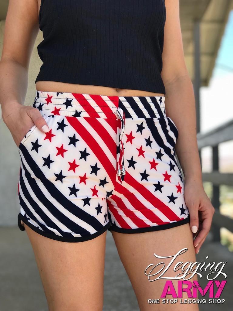 Shorts- Stars and Stripes