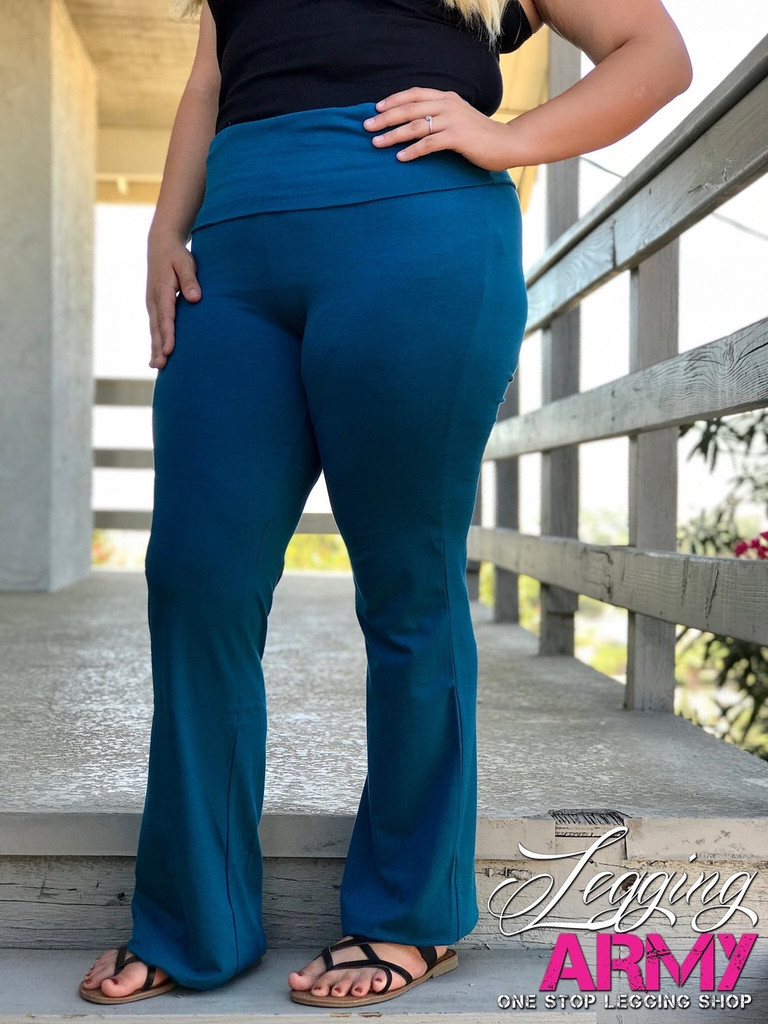 Plus Size Yoga Pants Legging Army