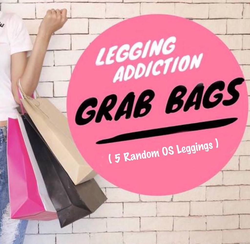 5- Piece One Size Capri Random Selection Grab Bags