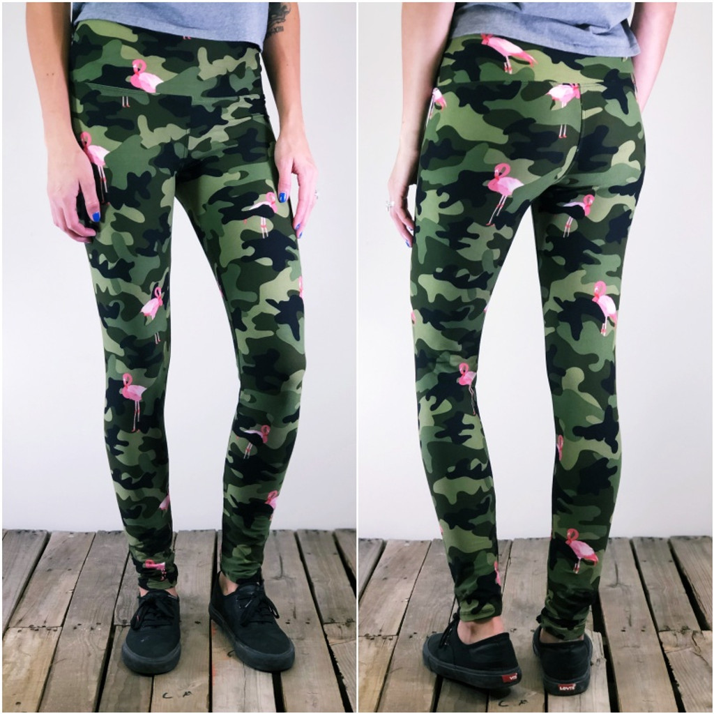 "Yoga 5"" Waistband- (One Size): Armed And Flocked (ARMY)"