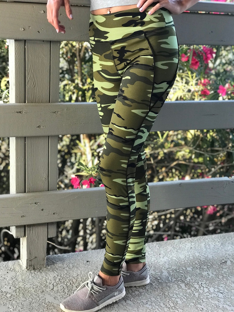 Activewear- Mean Green