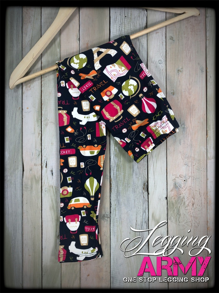 Kids- Traveling Leggings