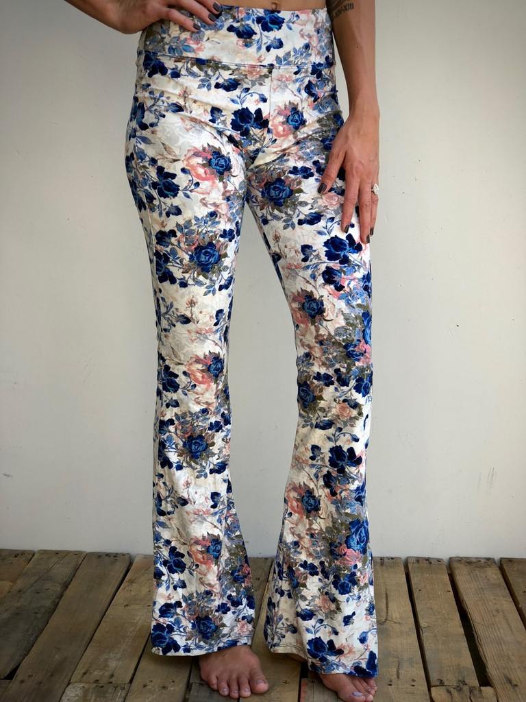 Palazzo Pants- Flowers In The Attic