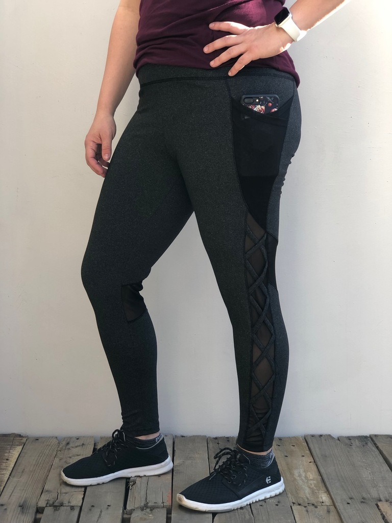 Plus Size Activewear Stealth- Charcoal