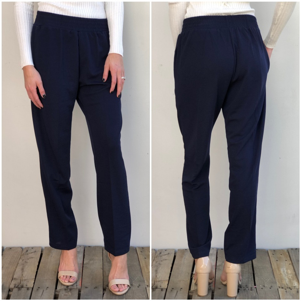 Business Pants- Navy