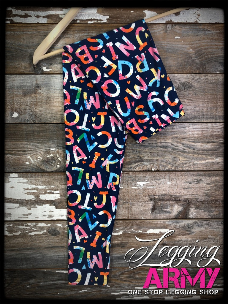3XL/5XL (22-28)- H I J K Leggings