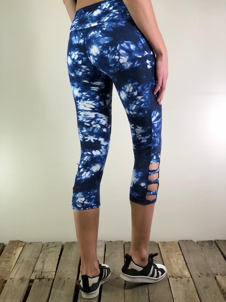 Capri Activewear- Smoke N' Mirrors: Blue