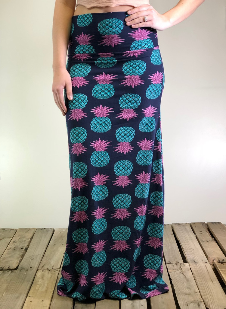 One Size Maxi- Pineapple Express